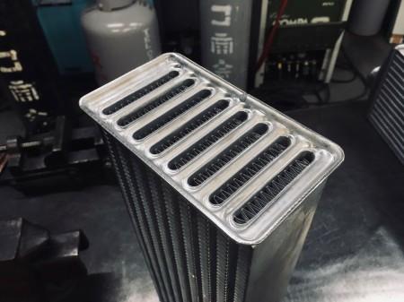 JB23ジムニーダイワレーシングラボ製コア(国産)採用前置きインタークーラー