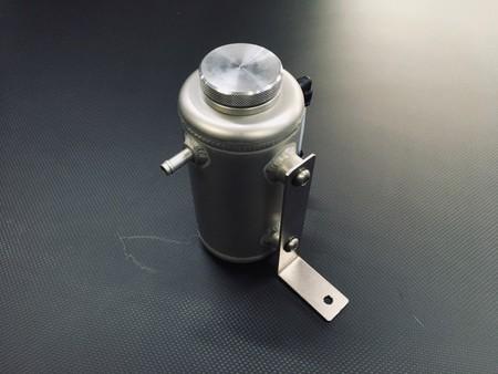 国産旧車全般対応汎用ラジエターリザーバーアルミタンク