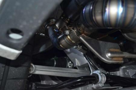 981ボクスター ワンオフ フルチタニウムマフラー 消音排気バルブ付