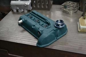 K6Aカムカバー結晶塗装
